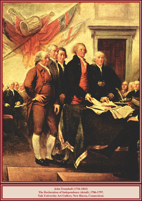 Джон Трамбулл. Декларация независимости