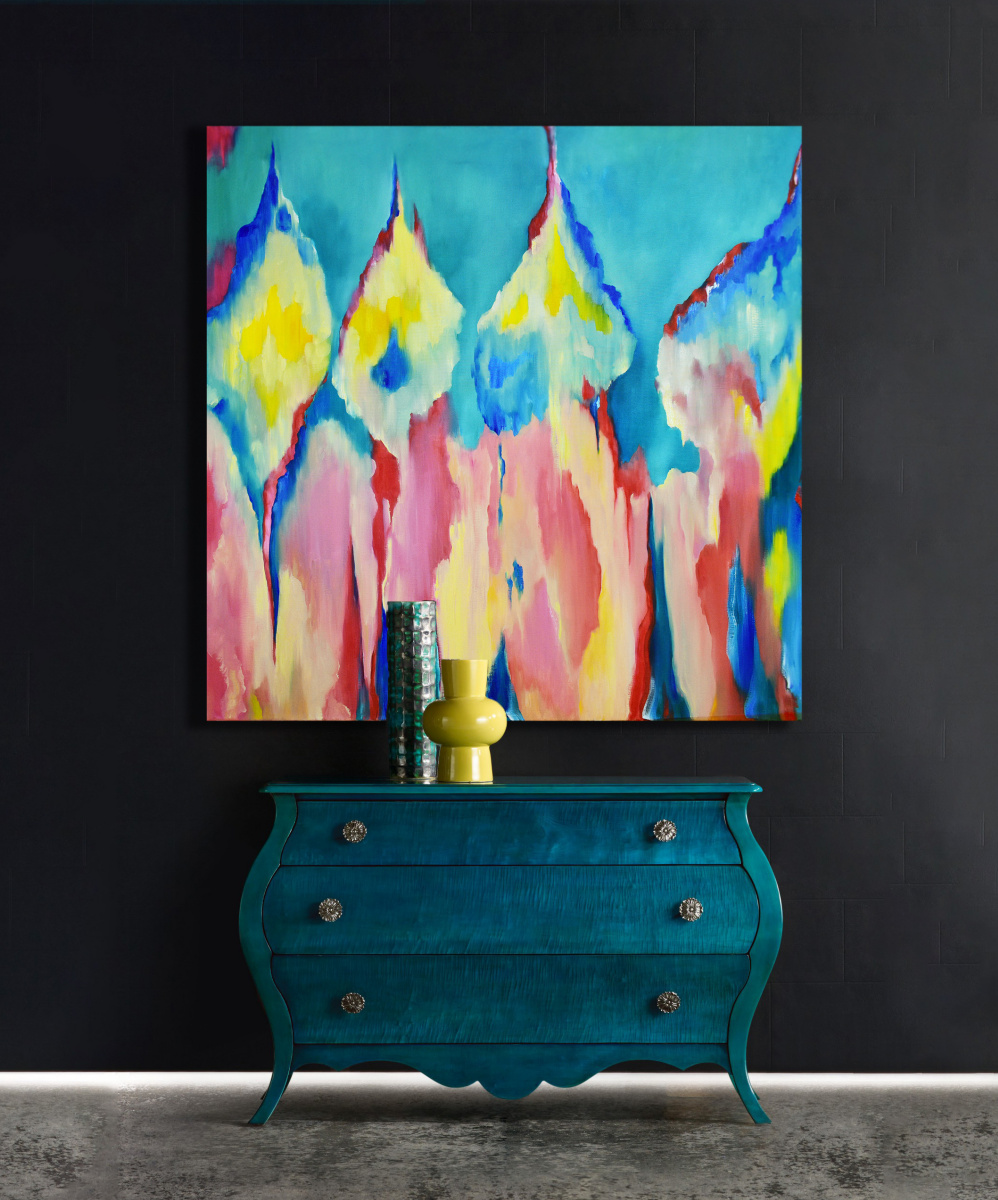 HAPPINESS - original oil painting
