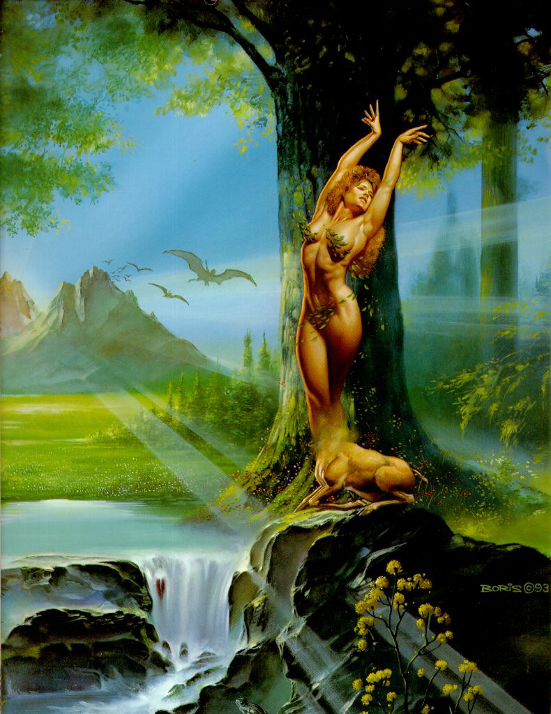 Boris Vallejo (Valeggio). Tree