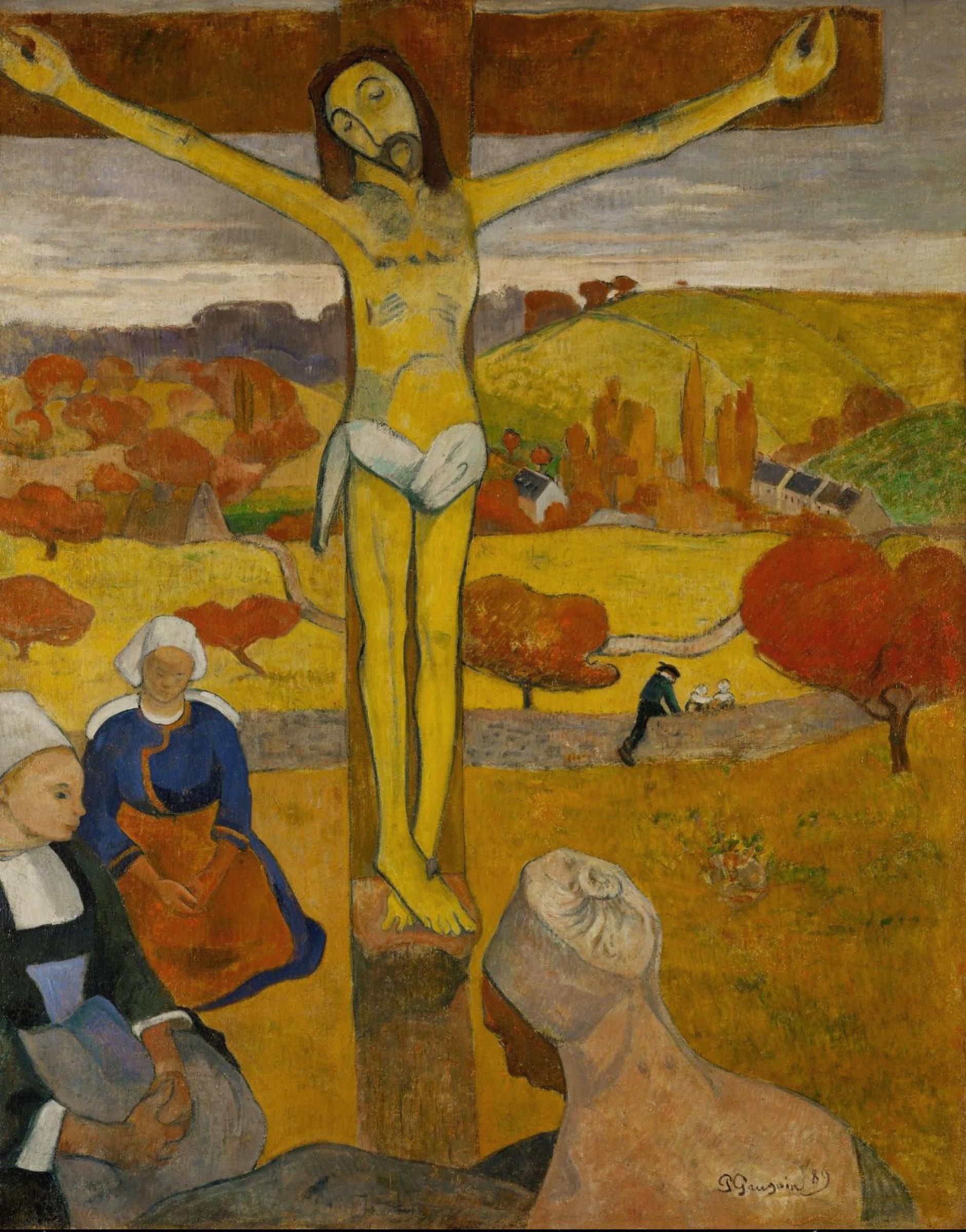 Поль Гоген. Желтый Христос
