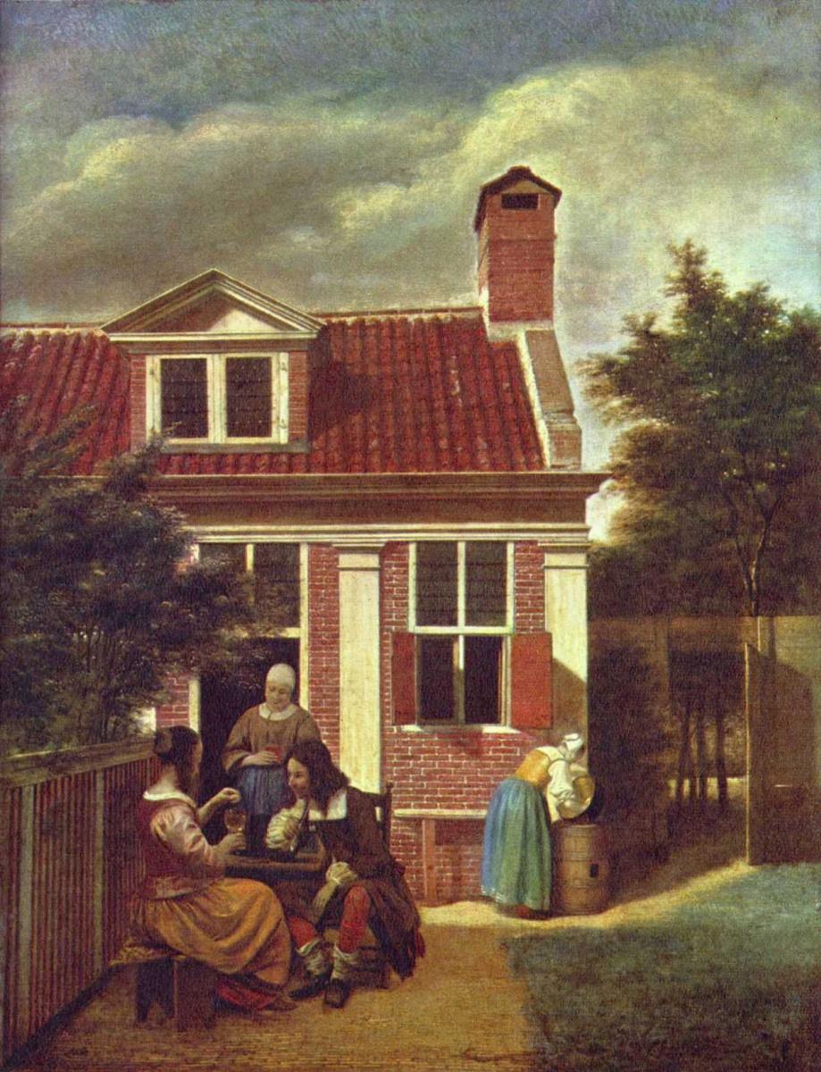 Питер де Хох. Сельский дом