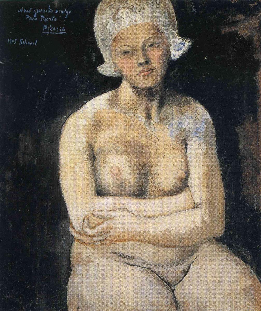 Пабло Пикассо. Прекрасная голландка