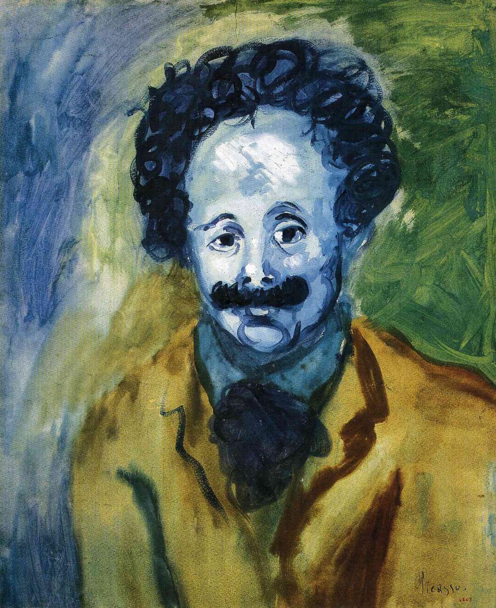 Пабло Пикассо. Мужчина с усами