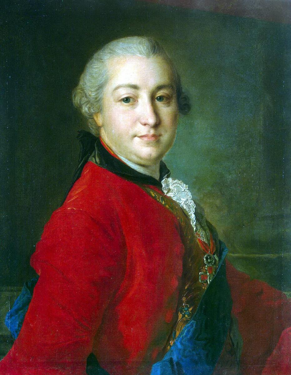 Федор Степанович Рокотов. Портрет Ивана Ивановича Шувалова