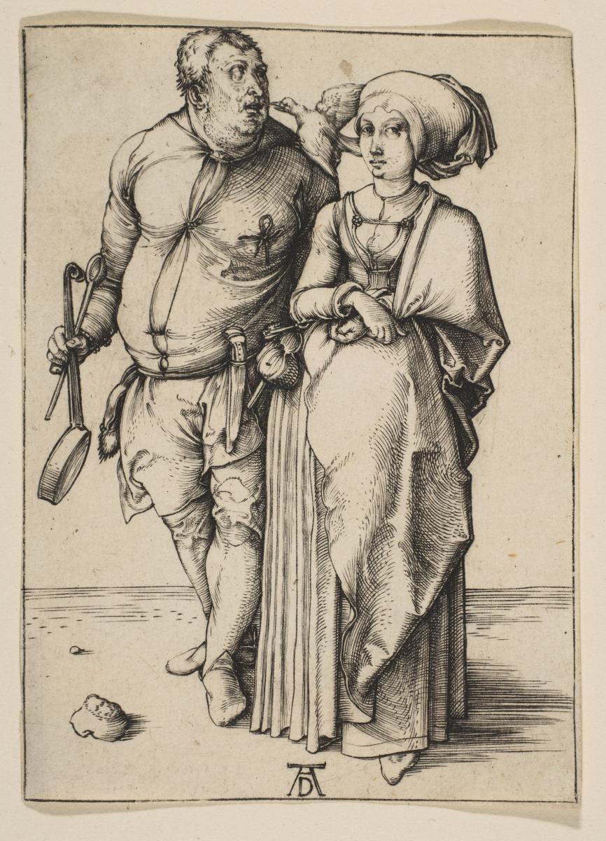 Альбрехт Дюрер. Повар и его жена