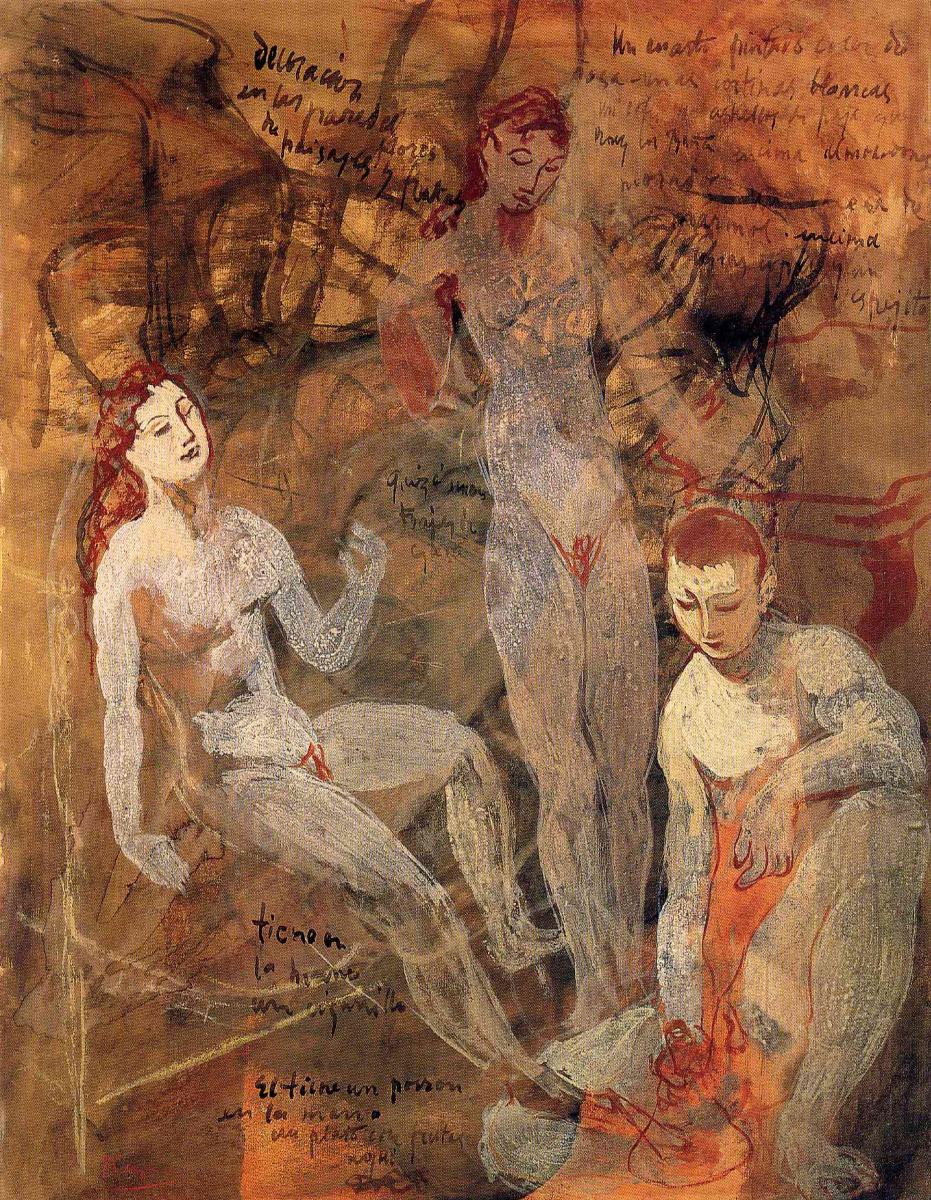 Пабло Пикассо. Три обнаженные