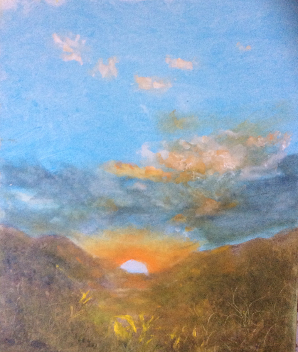 Рита Аркадьевна Бекман. Увидеть рассвет, зимнее утро в Галилейских горах
