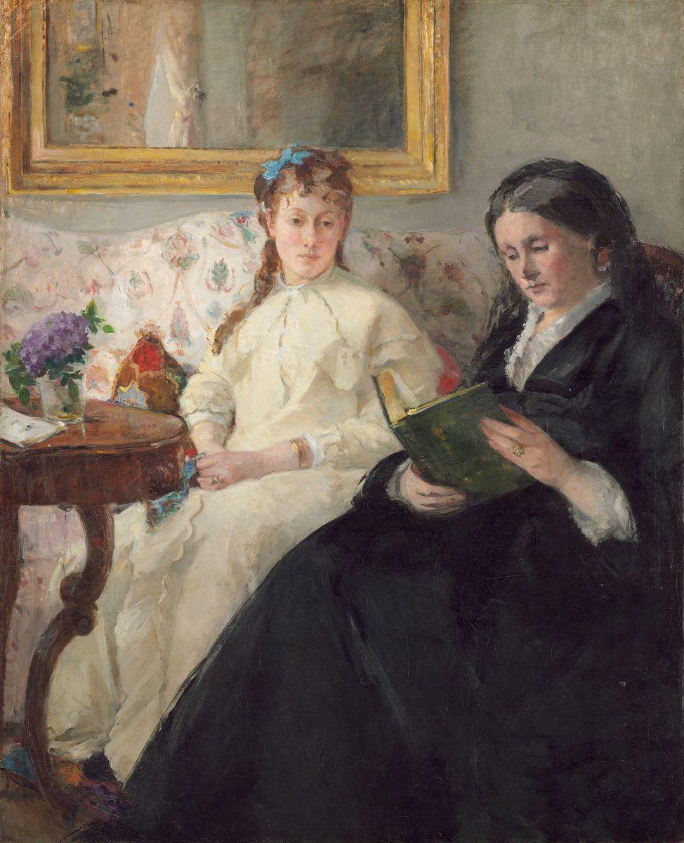 Берта Моризо. Мать и сестра художницы