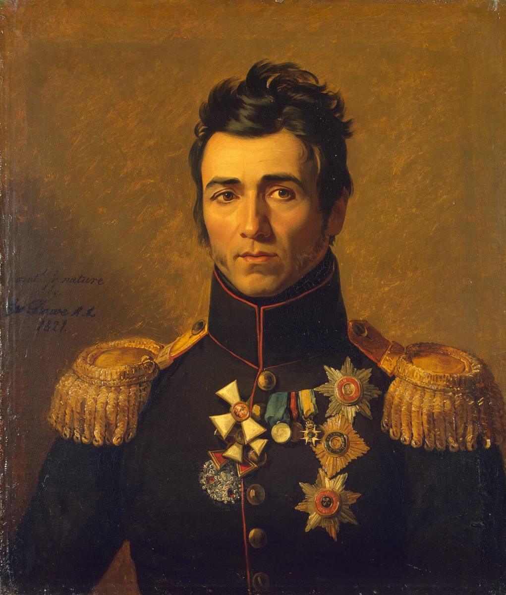 Джордж Доу. Портрет Петра Михайловича Капцевича
