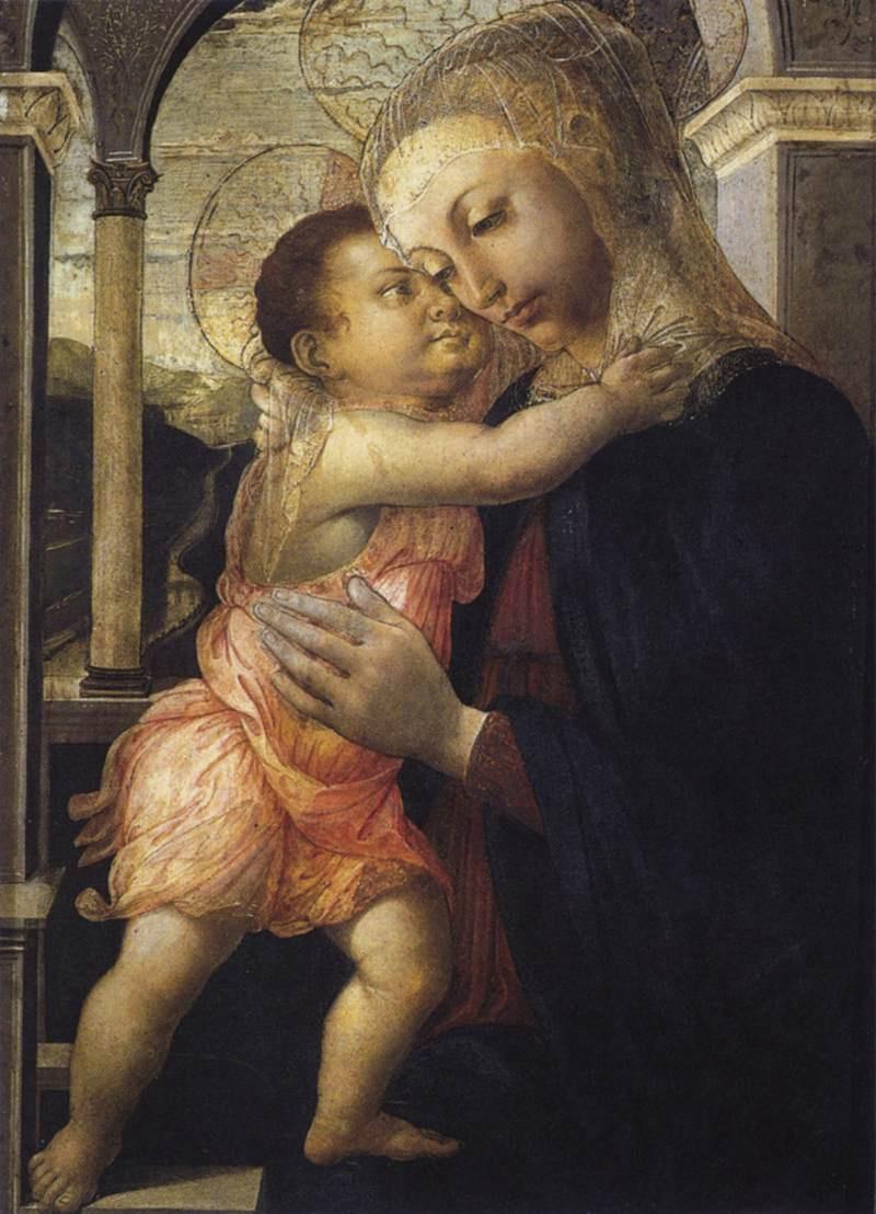 Сандро Боттичелли. Мадонна с младенцем