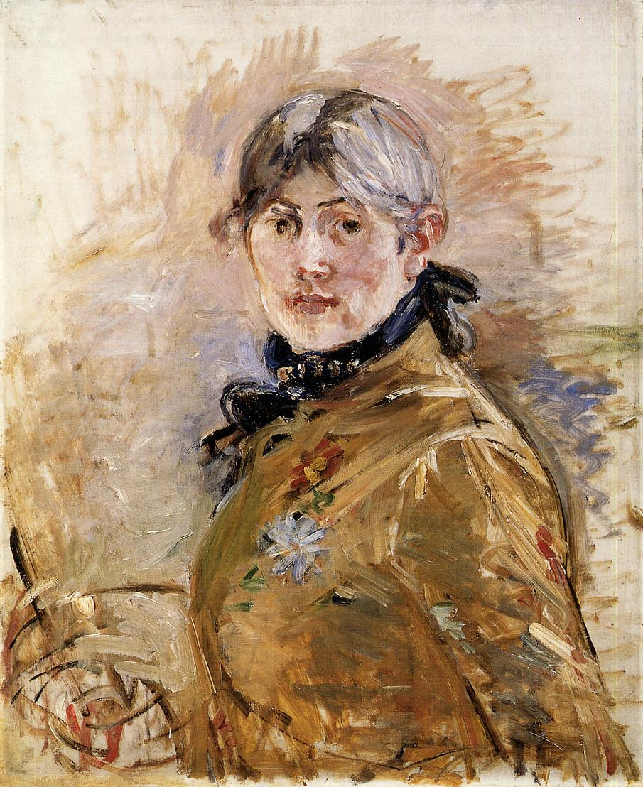 Berthe Morisot. Self-portrait