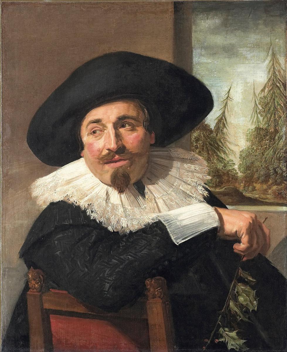 Frans Hals. Portrait Of Isaac Abrahams