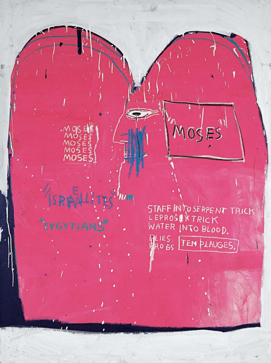 Жан-Мишель Баския. Моисей и египтяне