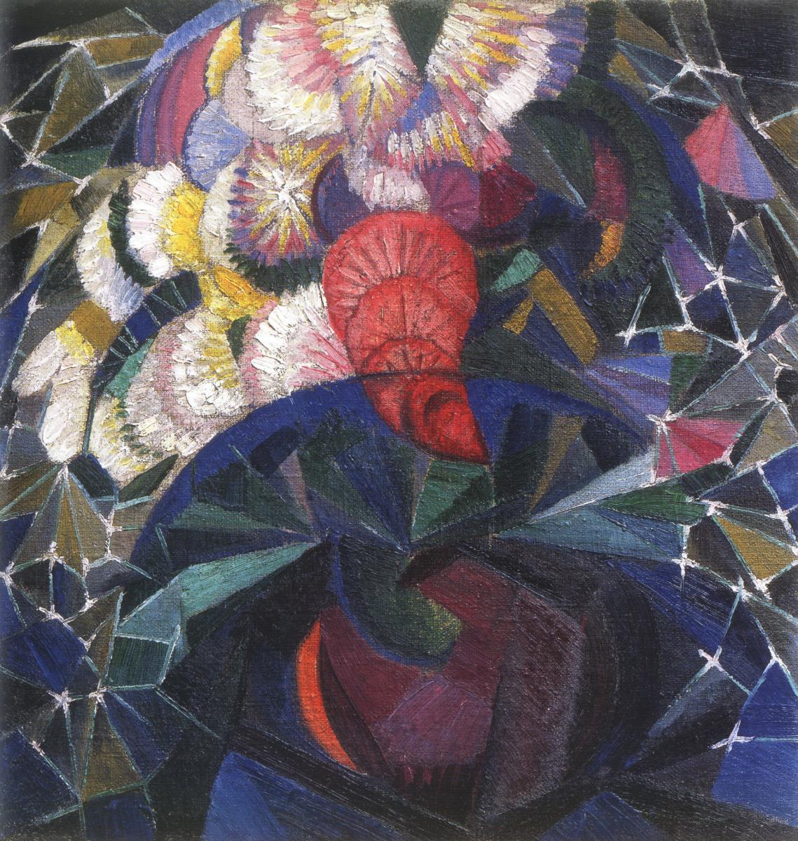 Александр Константинович Богомазов. Bouquet of flowers