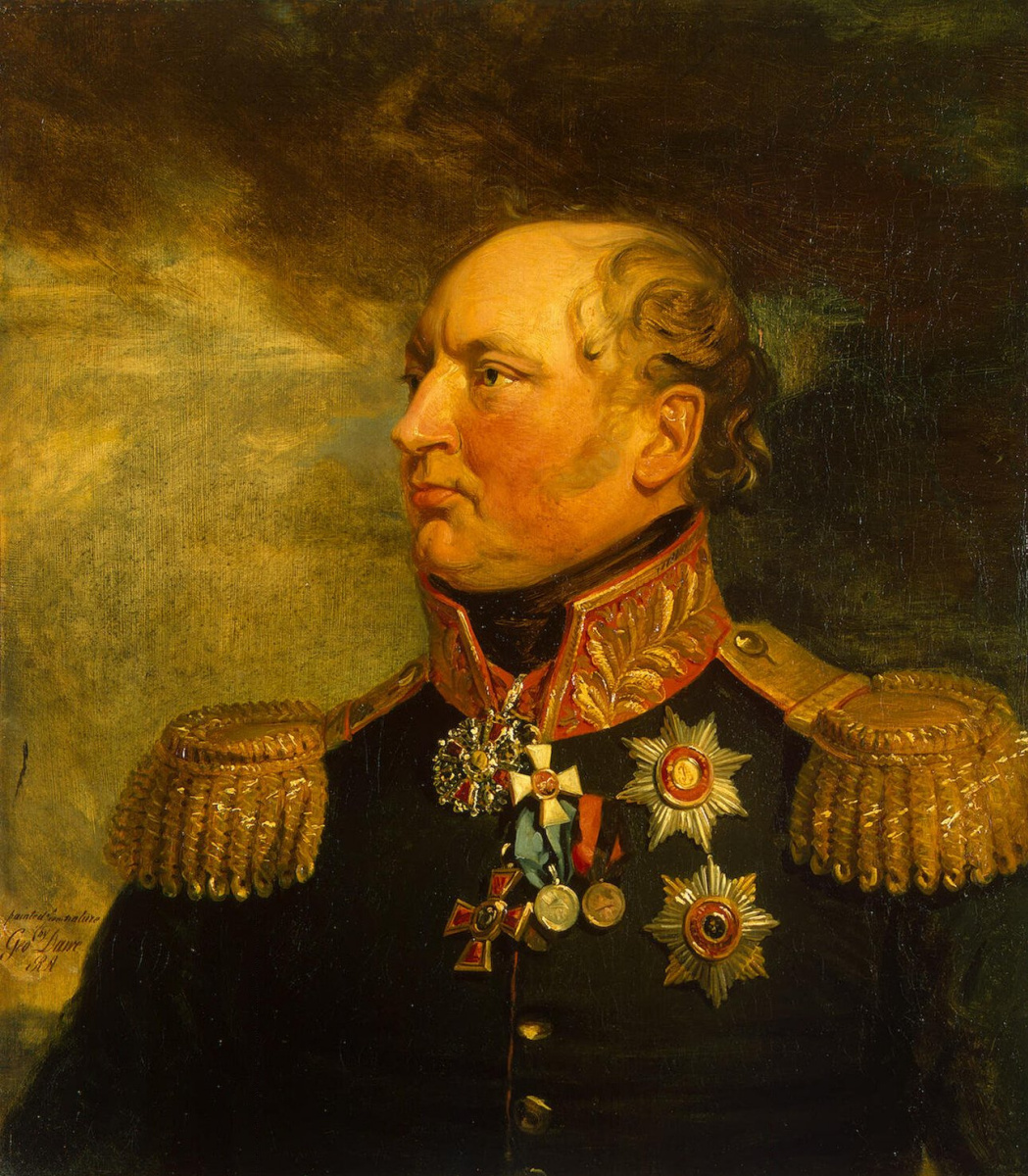 George Dow. Portrait of Fedor Fedorovich Leviz