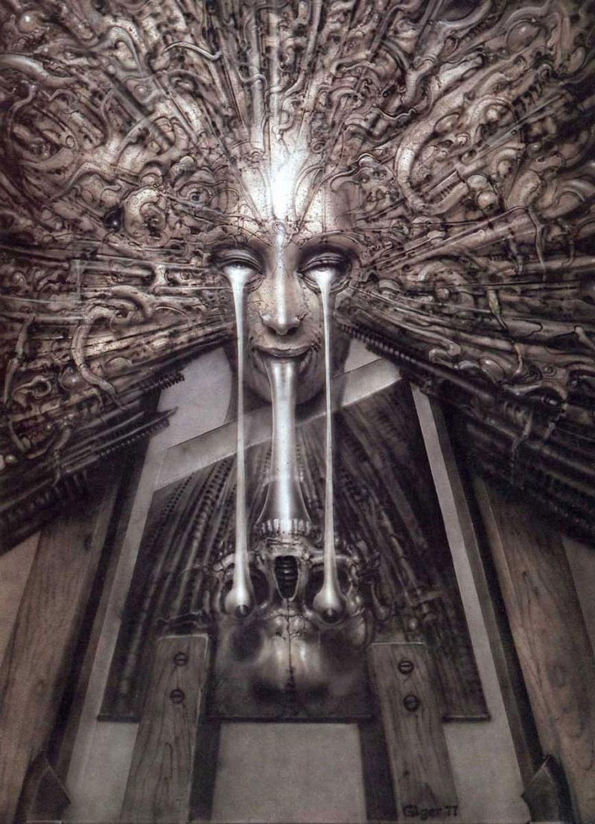 Ганс Рудольф Гигер. Отражение в зеркале