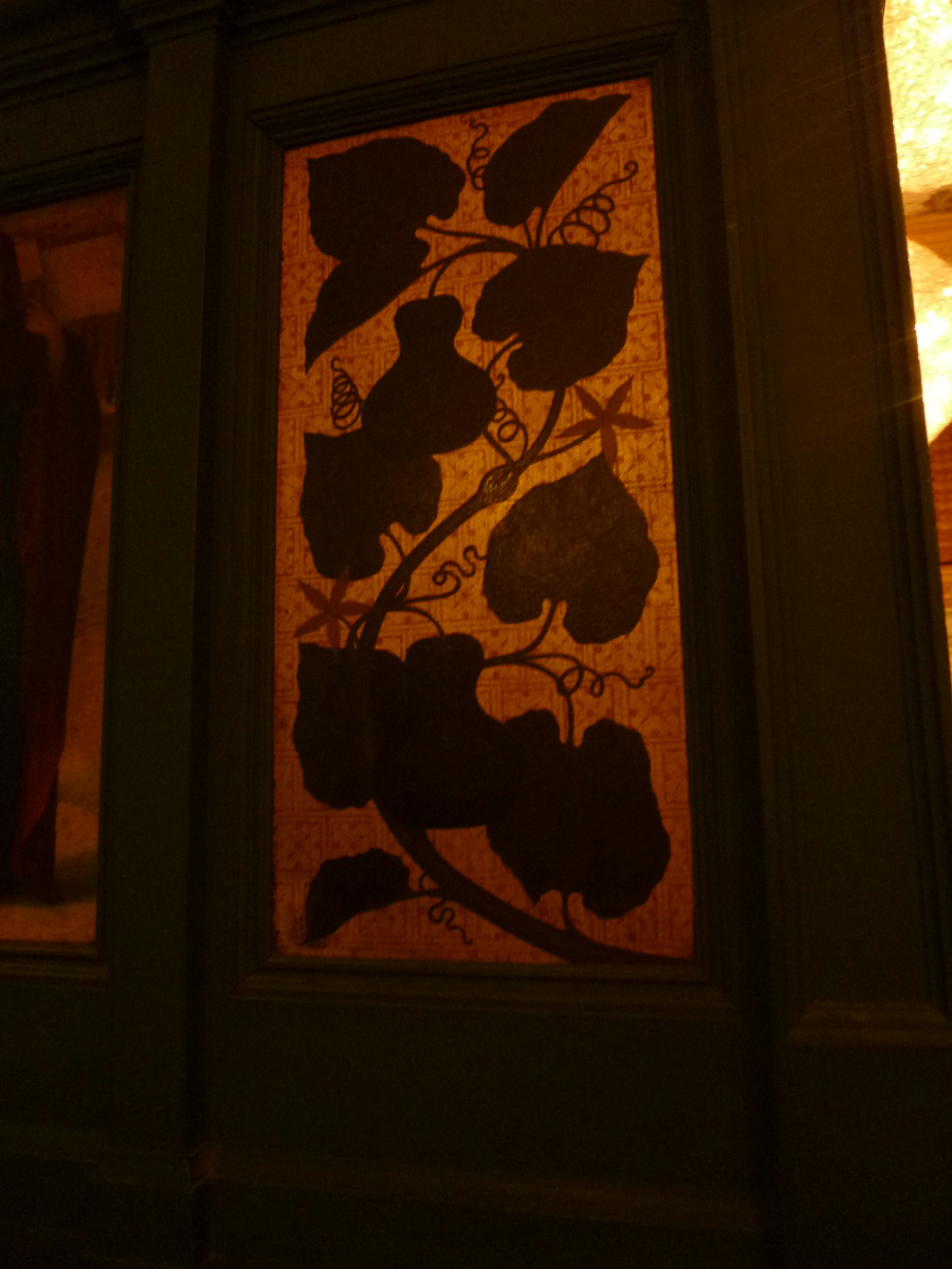 Уильям Моррис. Интерьер комнаты Морриса, Лондон. Дверь