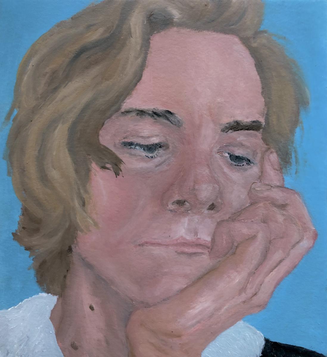 Vladislav Vossoyed. Self-portrait. I'm 22
