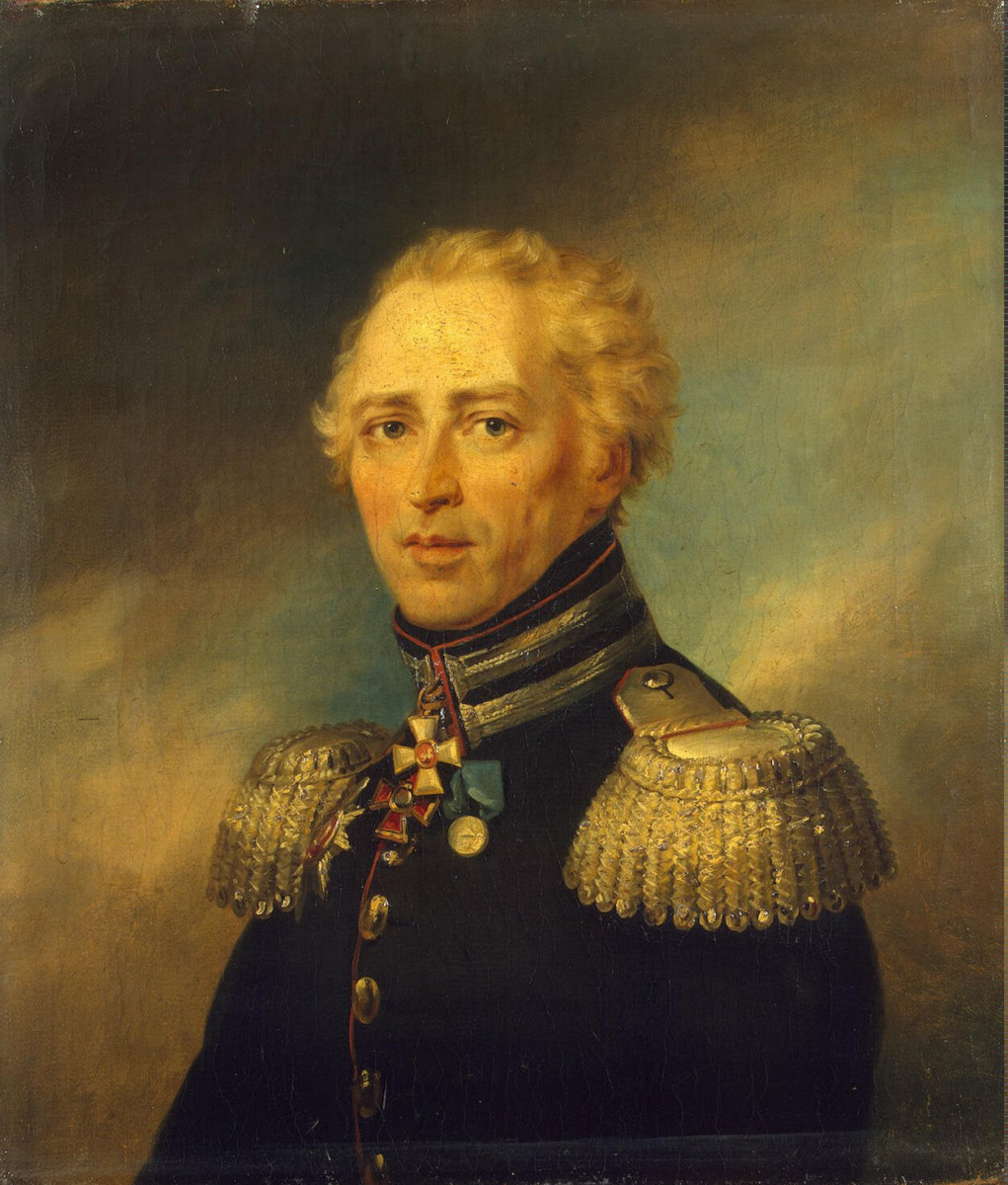George Dow. Portrait of Christian Ivanovich Truzeson
