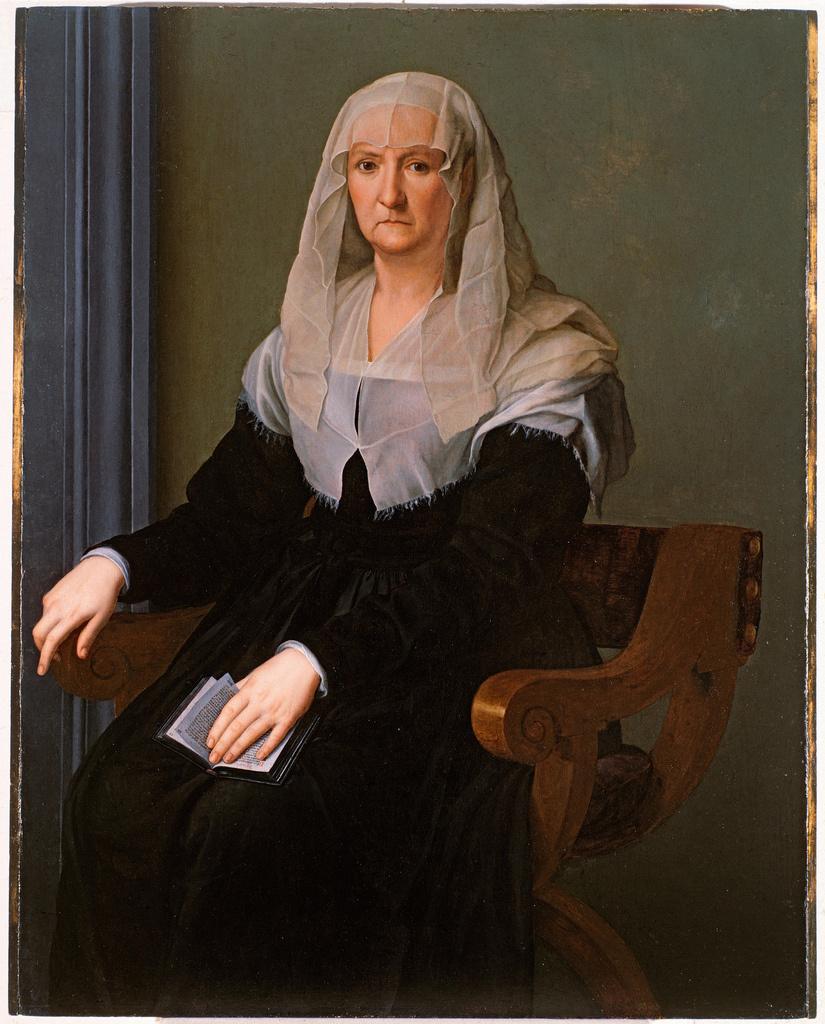 Аньоло Бронзино. Портрет пожилой женщины