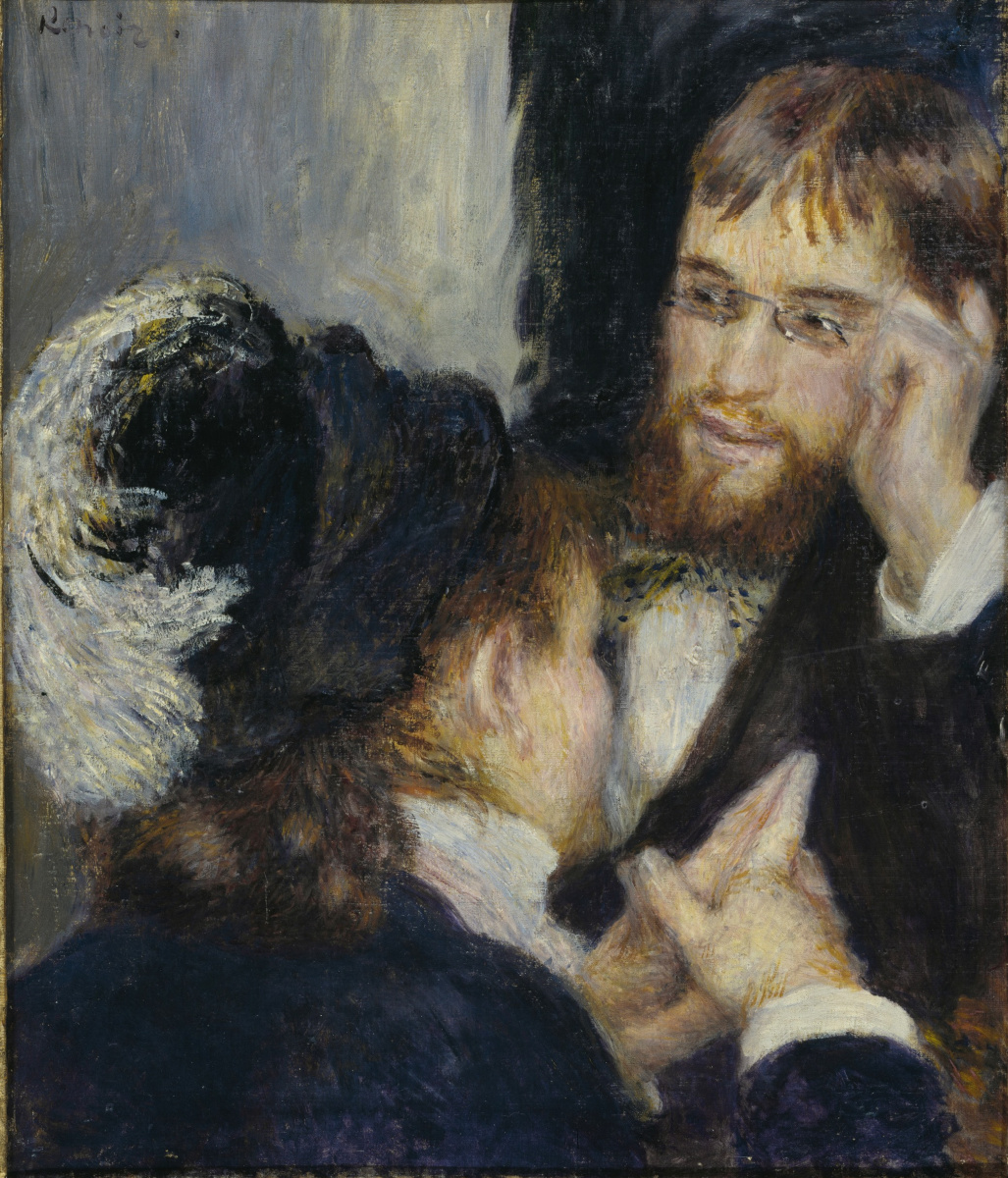 Pierre-Auguste Renoir. The conversation