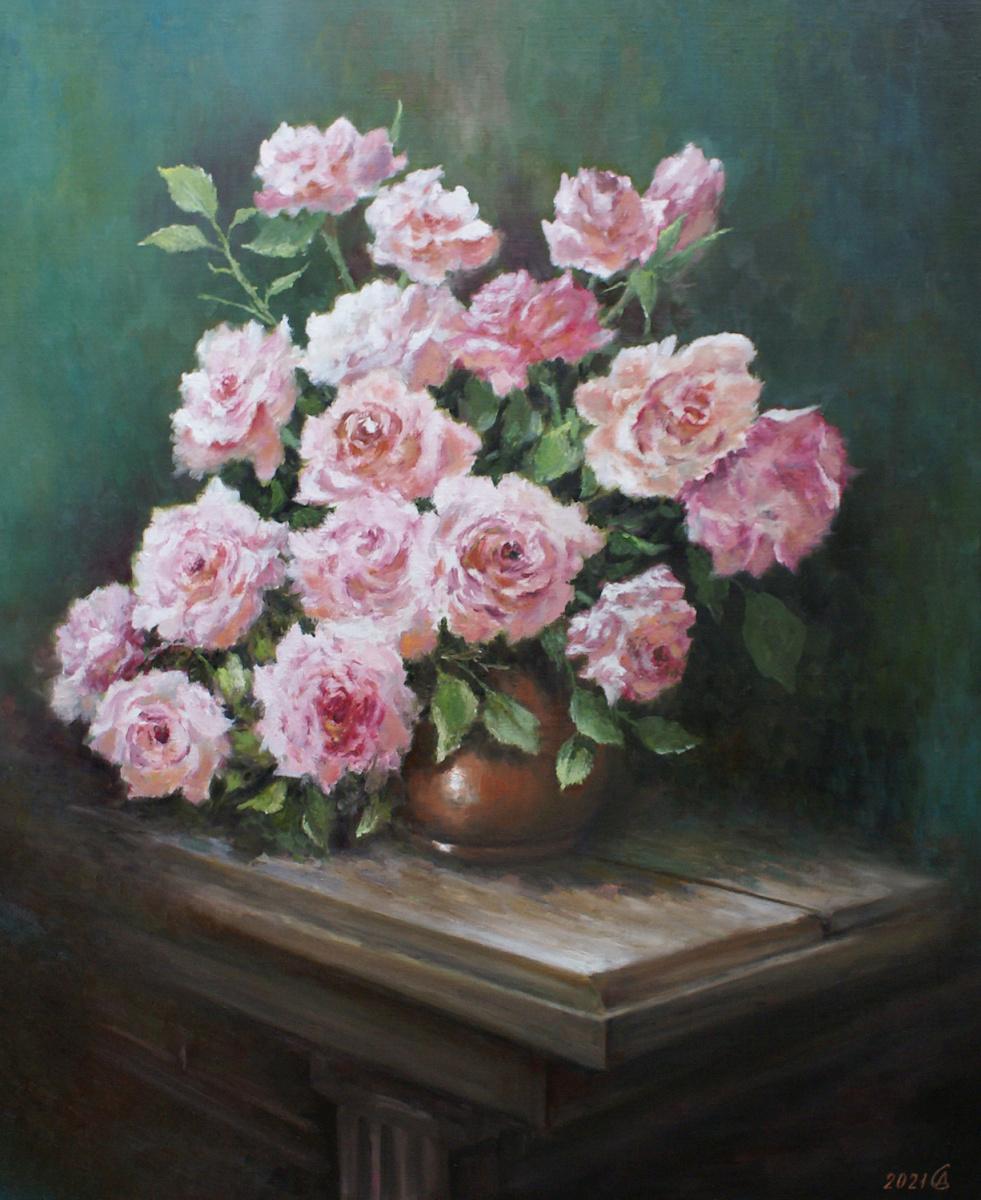 Сергей Владимирович Дорофеев. Rose bouquet