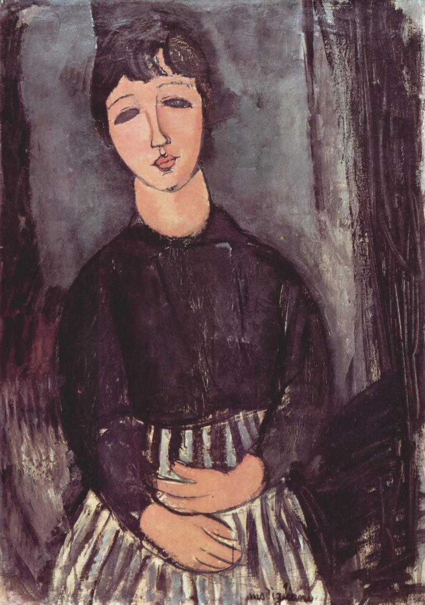 Амедео Модильяни. Портрет камеристки
