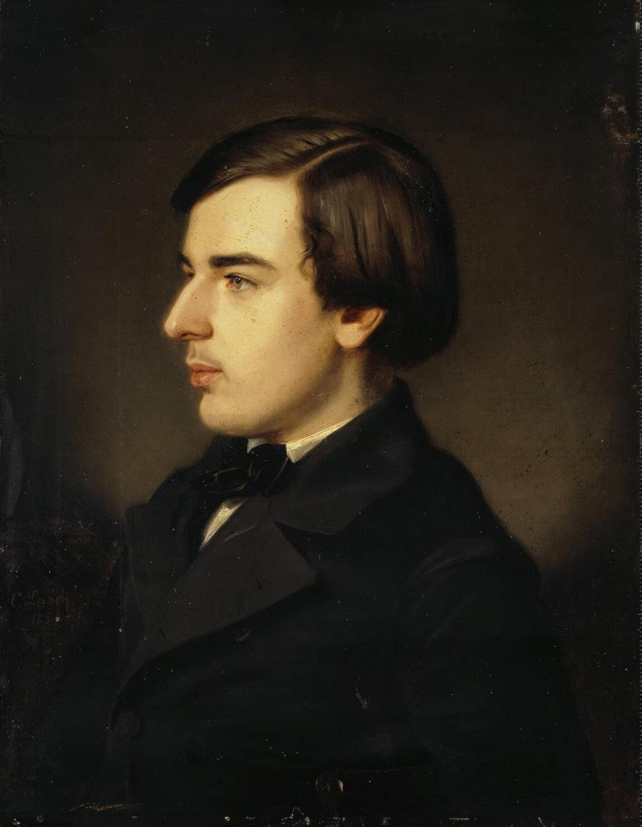 Карл Иванович Лаш. Портрет старшего сына Германа