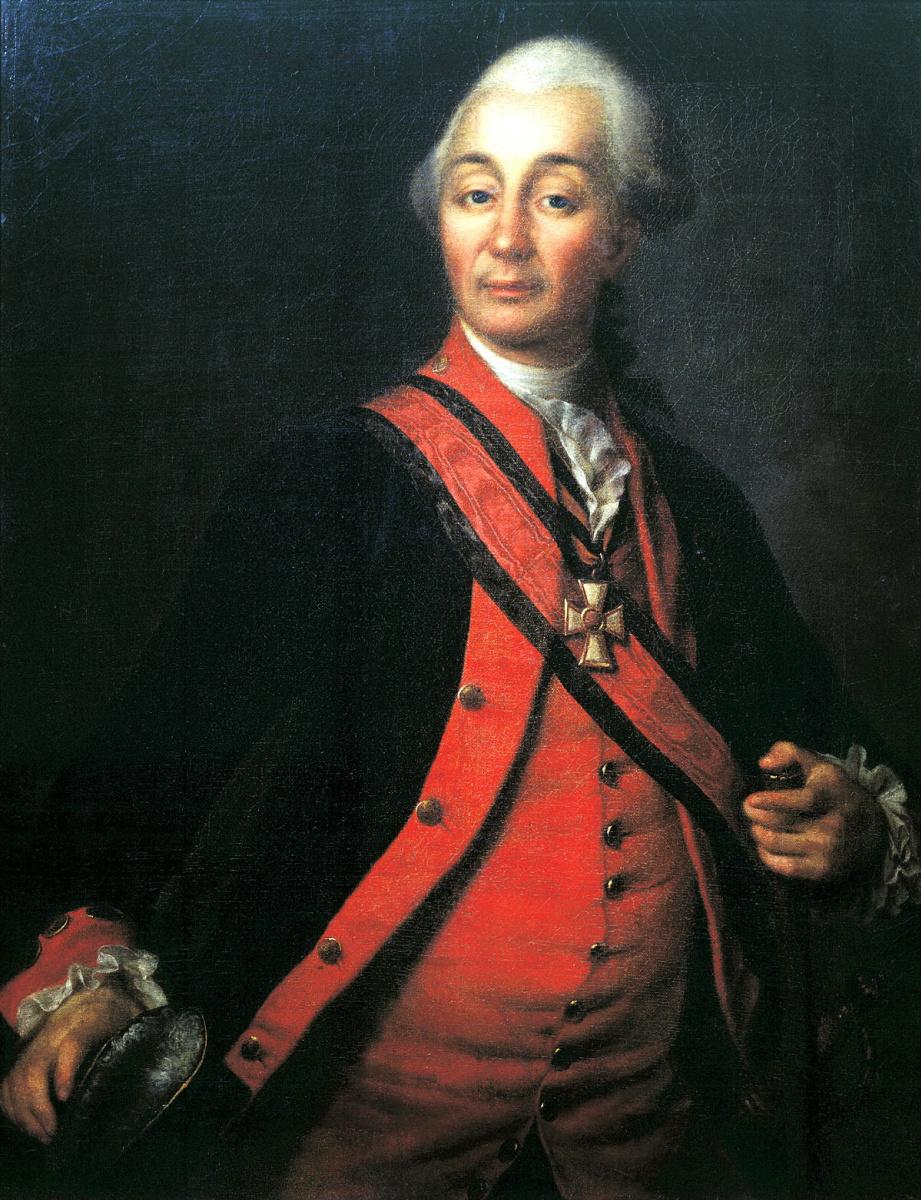 Дмитрий Григорьевич Левицкий. Портрет Суворова