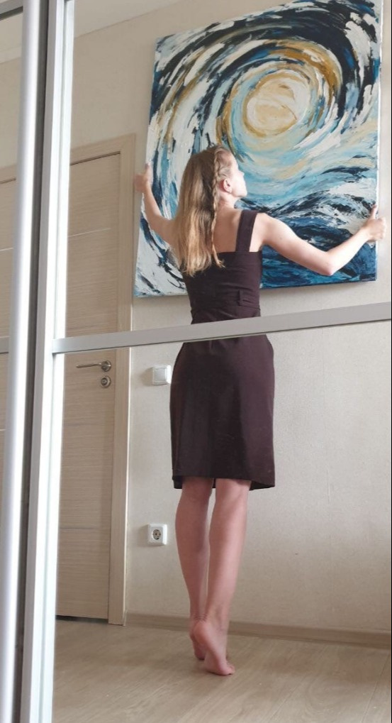Sandalova Alena. Abstraction
