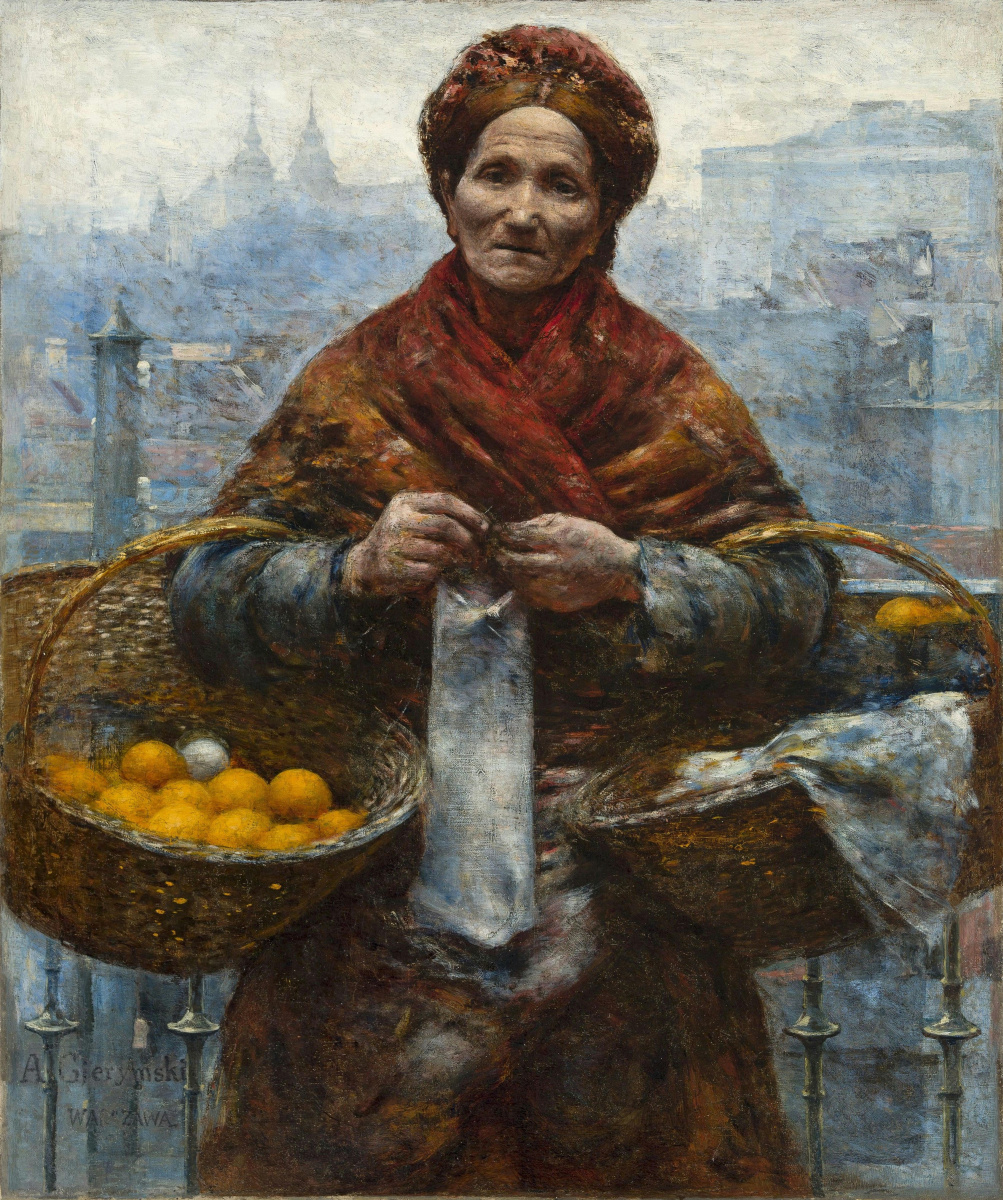 Jewess with oranges