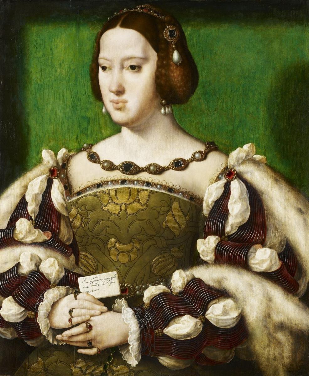 Йос ван Клеве. Портрет Элеоноры Австрийской, королевы Франции (1498-1558). 1531-1534