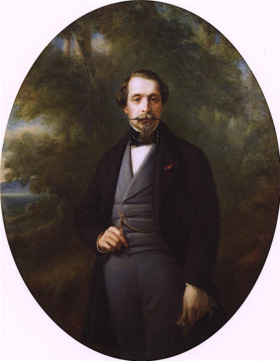 Франц Ксавер Винтерхальтер. Император Наполеон III