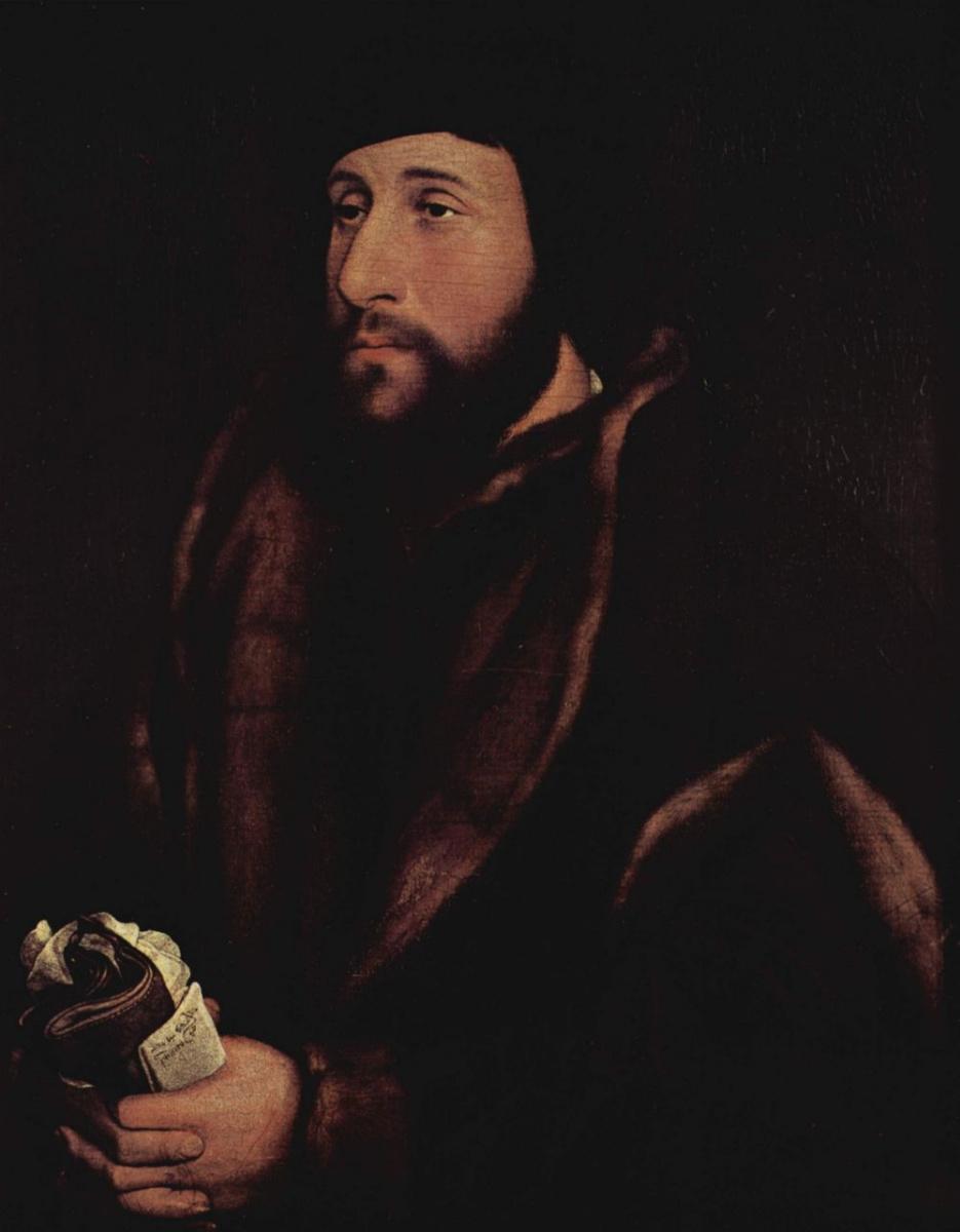 Ганс Гольбейн Младший. Мужской портрет