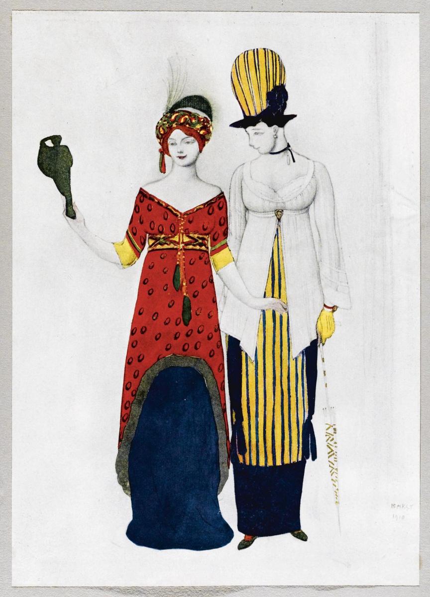 Lev Samoilovich Bakst (Leon Bakst). Costumes
