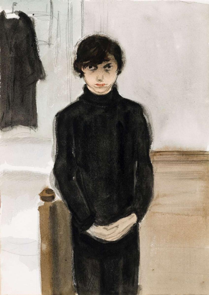 Жанна Маммен. Без названия (Автопортрет)