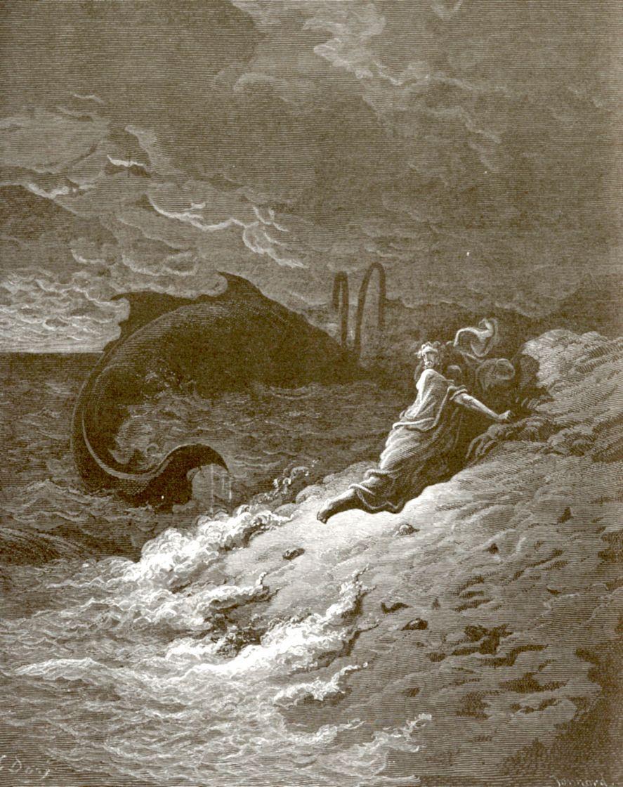 Поль Гюстав Доре. Пророк Иона
