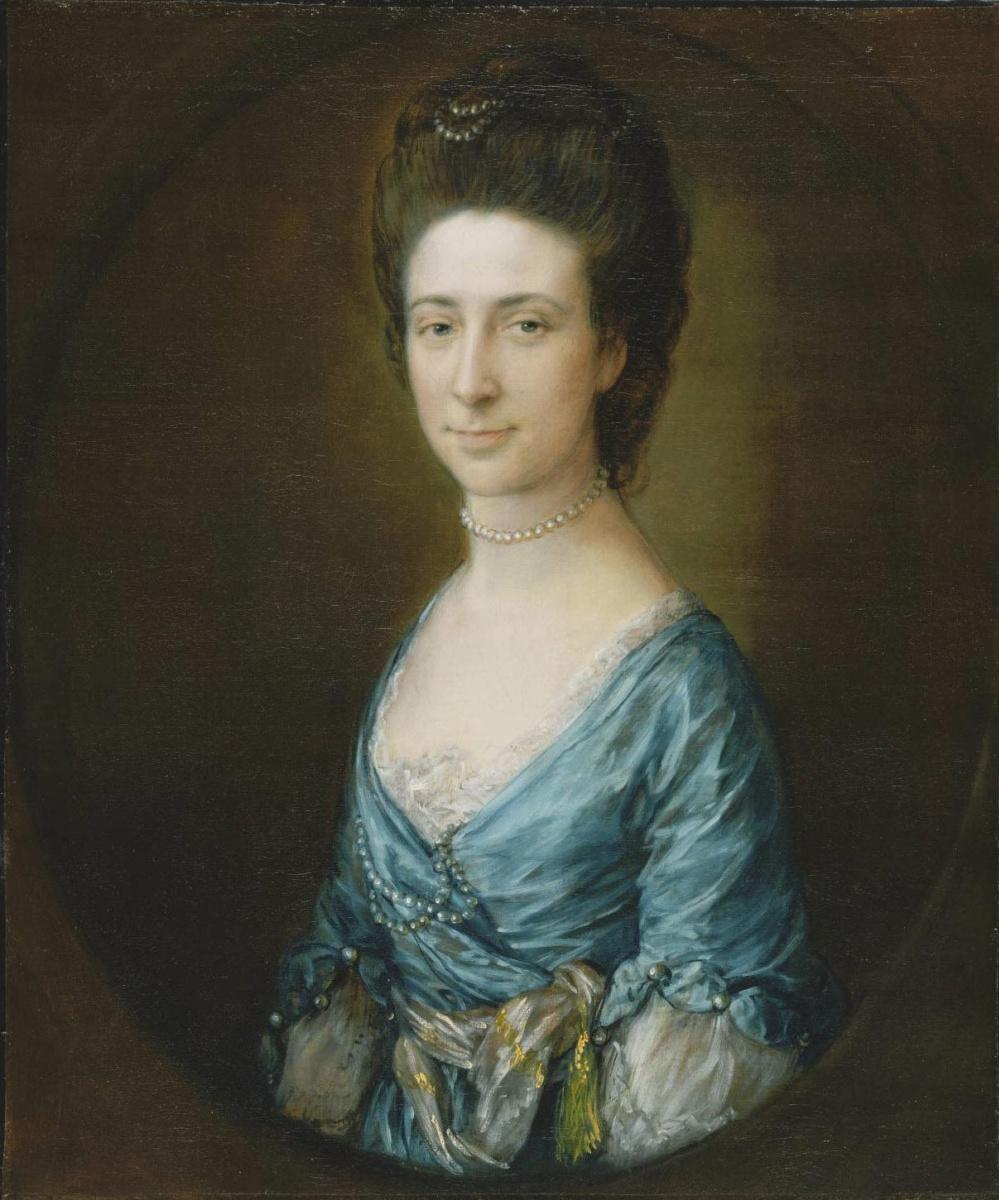 Thomas Gainsborough. Portrait of Mrs. Clement Tagua