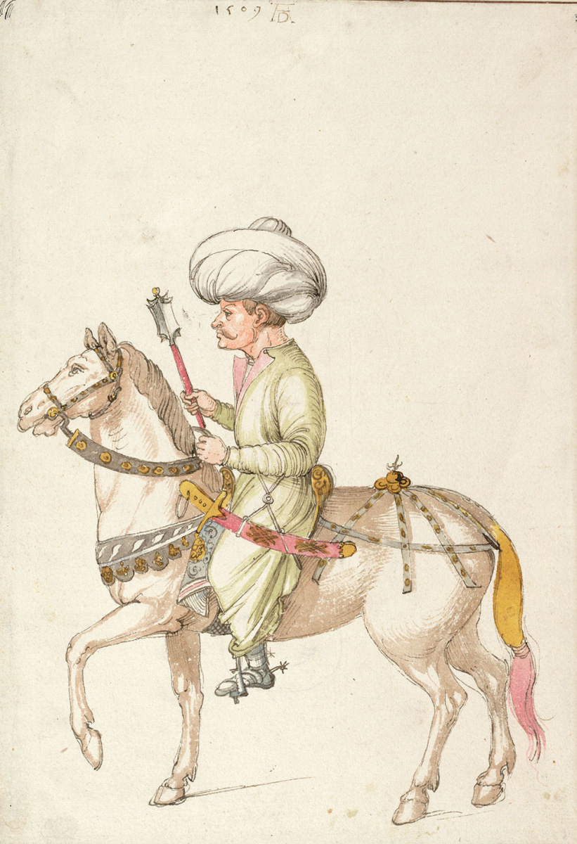 Альбрехт Дюрер. Восточный всадник