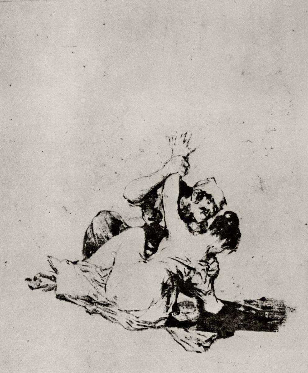 Francisco Goya. Violence