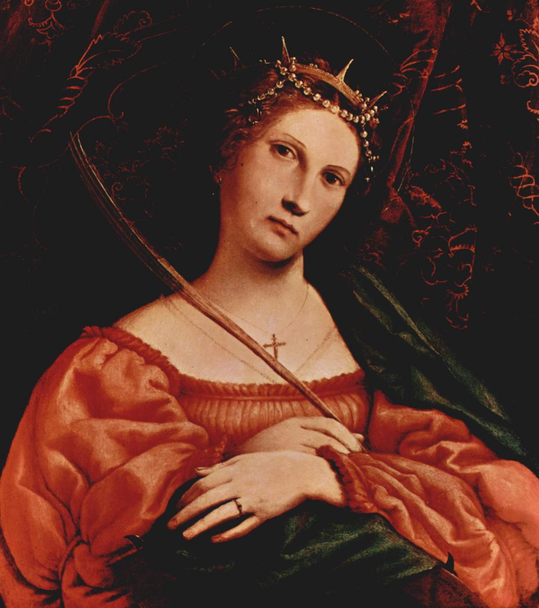 Lorenzo Lotto. SV. Catherine Of Alexandria