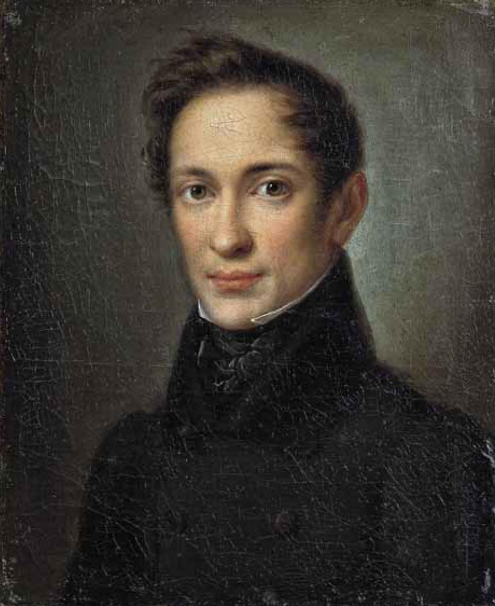 Алексей Алексеевич Збруев. Портрет А. И. Герцена