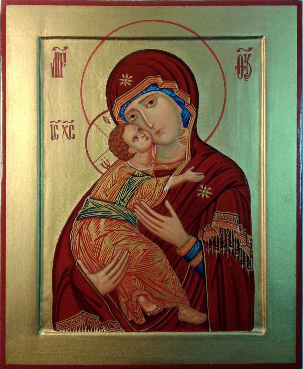 Gennady Alekseevich Stepanov. Icon of the Mother of God Vladimir