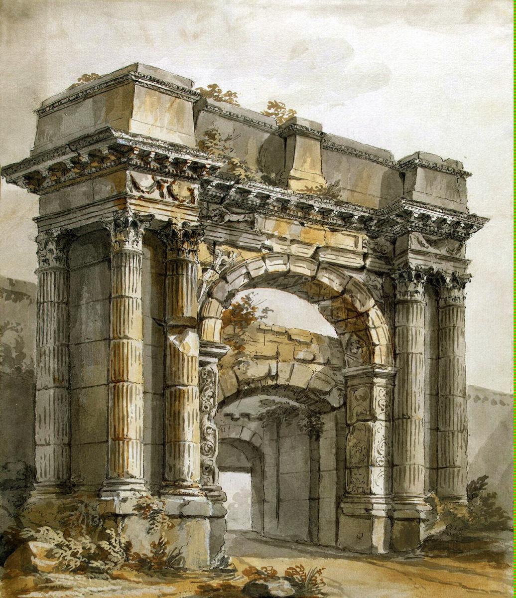 Шарль-Луи Клериссо. Триумфальная арка в Пола