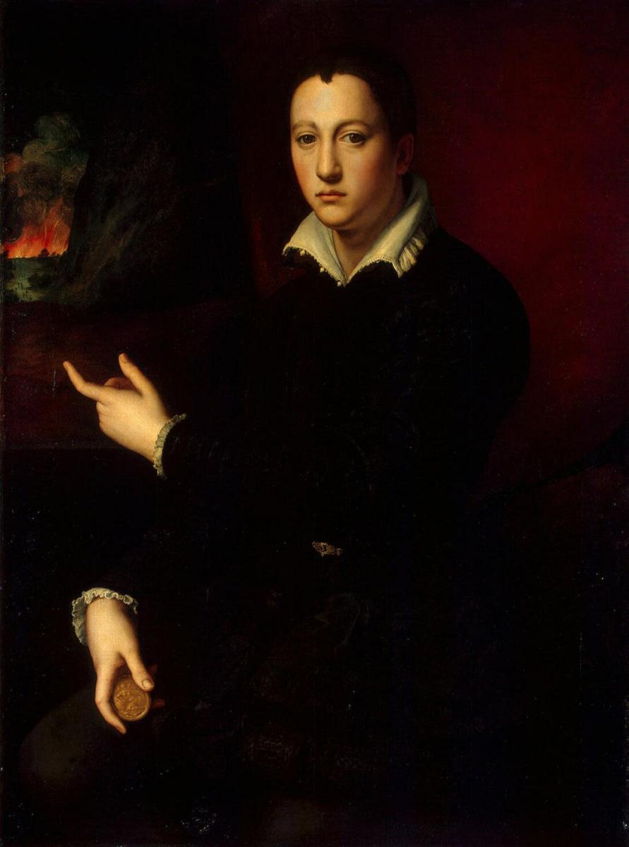 Аньоло Бронзино. Портрет Козимо I Медичи