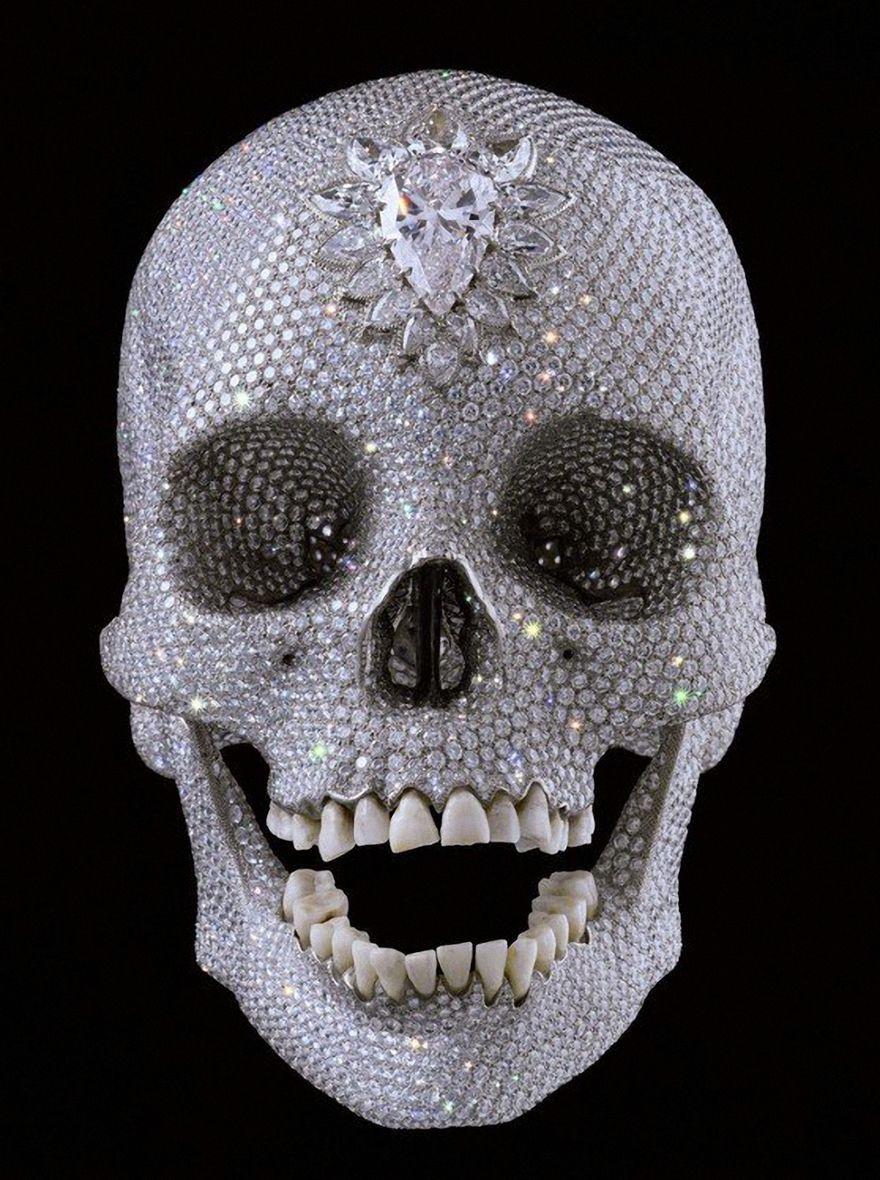 """Дэмиен Херст. Бриллиантовый череп (""""За любовь Господа"""")"""