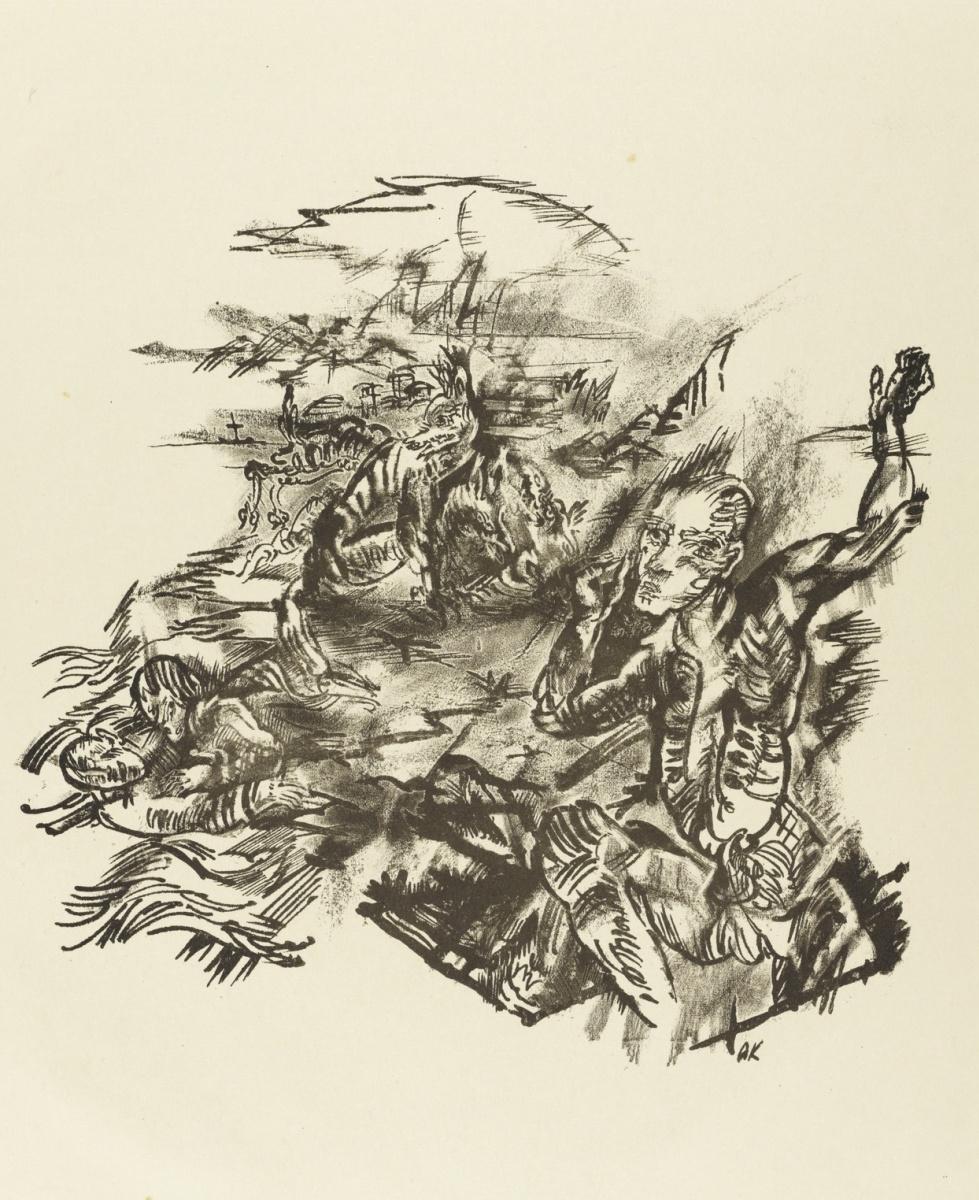 Oskar Kokoschka. The path to the grave