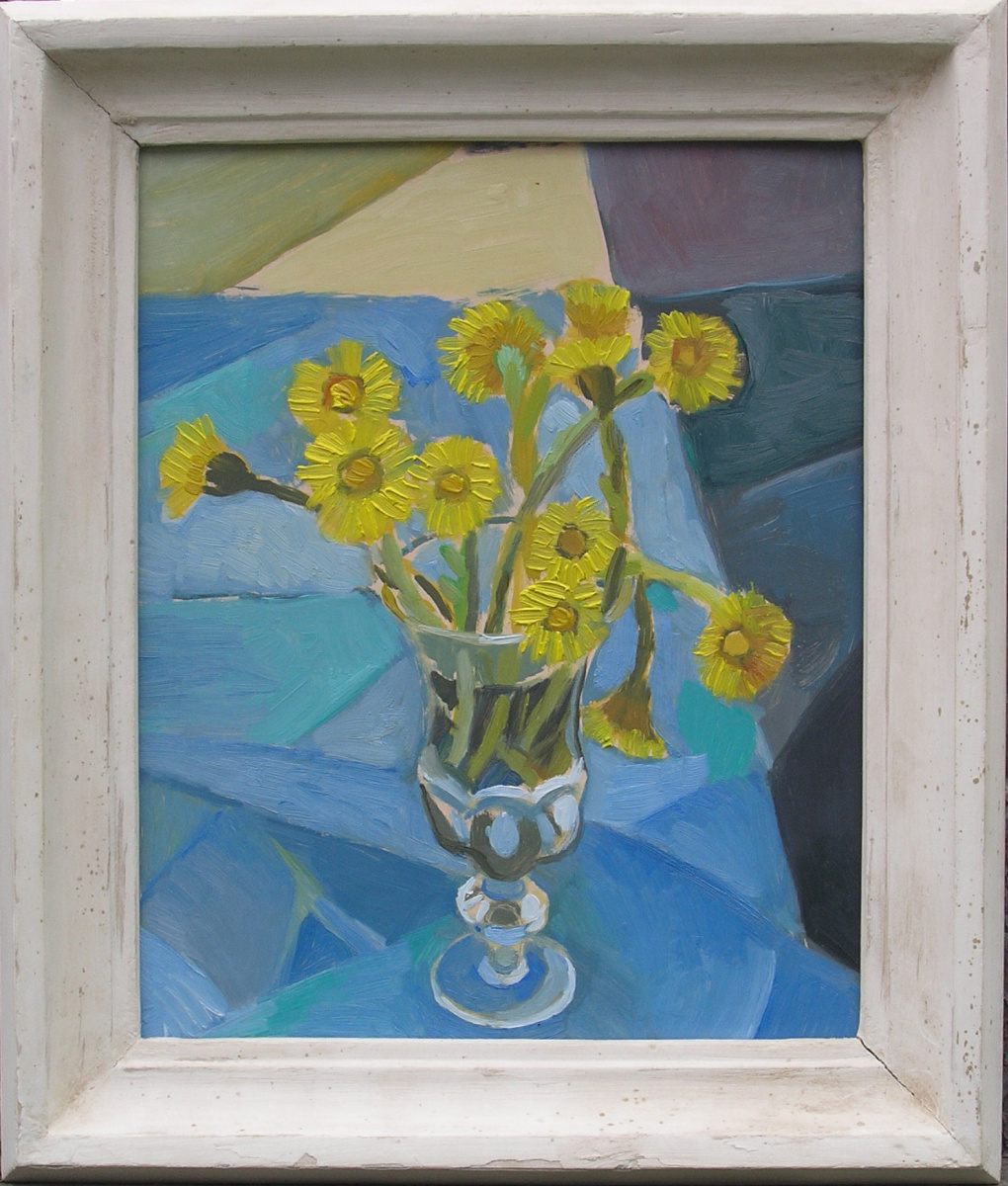 Stas Volostnych. Flowers in a vase