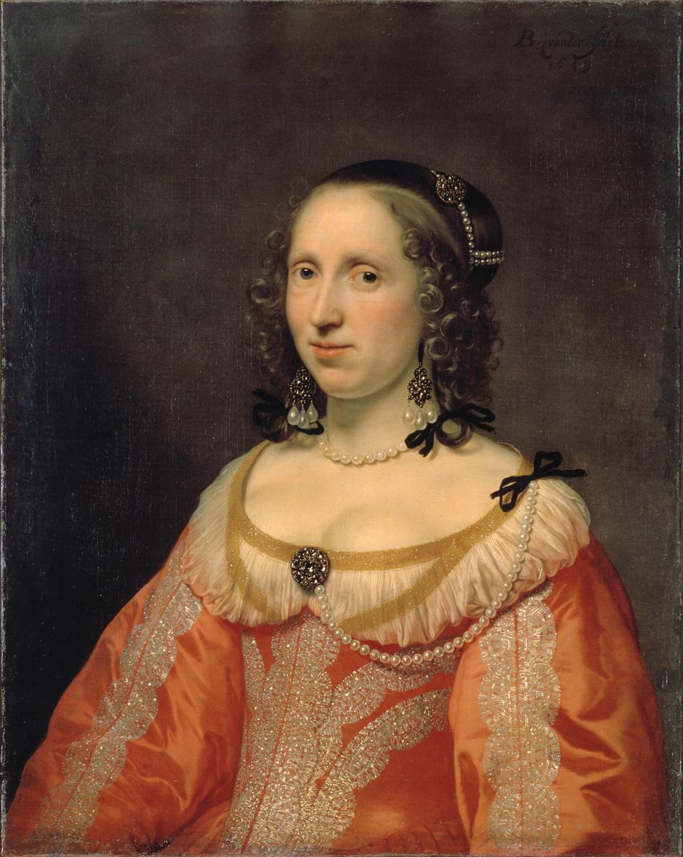 Бартоломео ван дер Хельст. Женский портрет