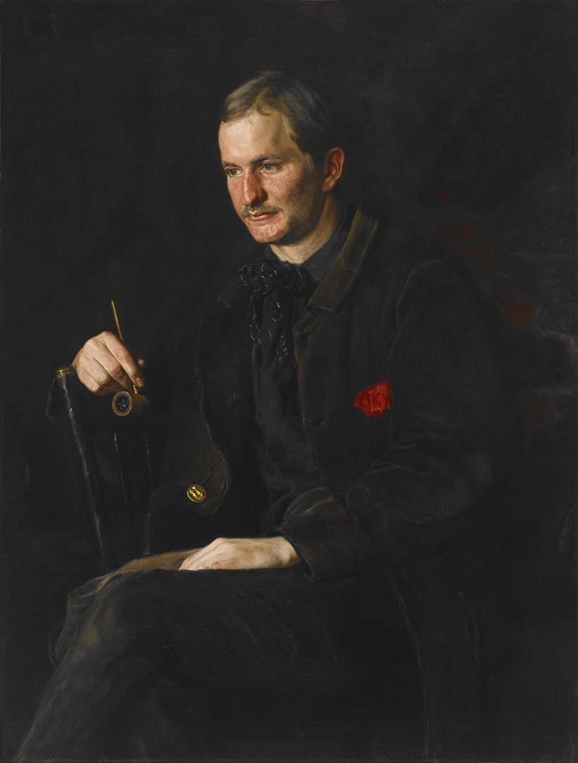 Thomas Eakins. Student painting James Wright